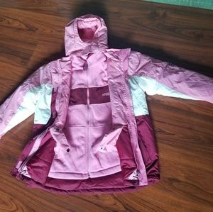 CHILDRENS PLACE 3 IN 1 14 WARM WINTER SKI JACKET